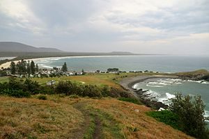Crescent Head, New South Wales - Scenic view of Crescent Head