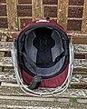 Cricket helmet at Wanstead & Snaresbrook CC, Wanstead, London.jpg