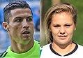 Cristiano Ronaldo (2016) and Lieke Martens (2012).jpg