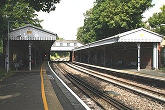 Crofton Park railway station - Image: Crofton Park station