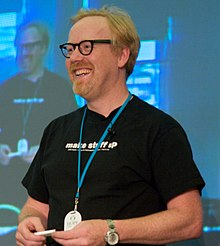 Description de l'image Cropped Adam Savage HOPE.jpg.