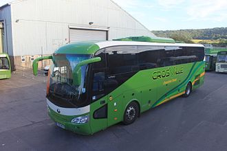 Yutong - A ZK6129H coach supplied to Crosville Motor Services in the UK