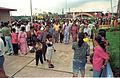 Crowd - Dinosaurs Alive Exhibition - Science City - Calcutta 1995-June-July 583.JPG