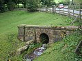 Culverted stream, Station Road, Esholt - geograph.org.uk - 963153.jpg