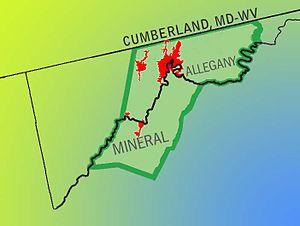 Cumberland, MD-WV MSA - Cumberland MD-WV Metropolitan Statistical Area