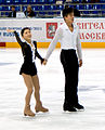 Cup of Russia 2010 - Takahashi and Tran (2).jpg
