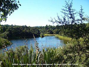 Waiau River (Southland) - Hobbit Lagoon Upper Waiau River
