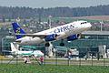 Cyprus Airways Airbus A320; 5B-DBB@ZRH;07.04.2010 570ex (4500729616).jpg