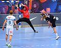 Cyril Dumoulin et Mikkel Hansen-20160416-PSG-TOULOUSE.JPG