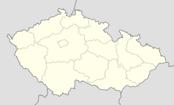 Horní Dubenky is located in Czech Republic