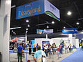 D23 Expo 2011 - Disneyland Adventures Kinect booth (6064388644).jpg