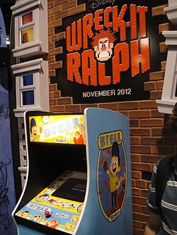 D23 Expo 2011 - Fix-It Felix Jr arcade game (Wreck-It Ralph movie - Disney Animation booth) (6075802544).jpg
