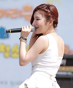 DIA (Lee Ji-eun) from Bella at the Incheon Festival, May 2013 02.jpg