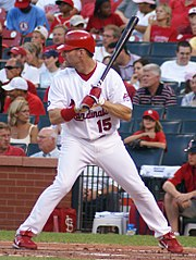 Jim Edmonds jako zawodnik St. Louis Cardinals