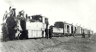 South West African 2-8-0T - Image: DSWA 2 8 0T no. 11 1908