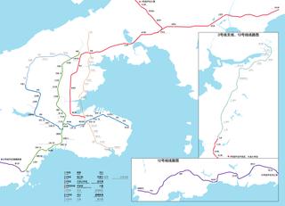 Dalian Metro Rapid transit system of Dalian, Liaoning, China