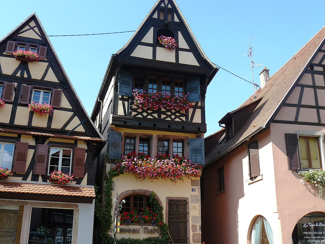 Preserved germanic architecture in alsace lorraine for K architecture strasbourg