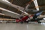 Danmarks Flymuseum, Stauning - Piper PA-16 'Clipper', Taylorcraft Plus D, L13 Blanik (27243346173).jpg