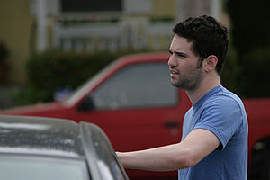 Dan Trachtenberg on location for The Totally R...