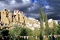 Dark clouds over Yungdrung Gompa - Lamayuru (10000126963).jpg