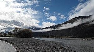 Dart River (Otago) - The Dart River near Glenorchy