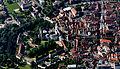 Das Deutschordensmuseum. Das Luftbild des Bad Mergentheimer Schlosses zeigt, dass die Anlage seit mehr als 200 Jahren kaum verändert wurde.jpg