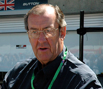 David Hobbs (racing driver) - Hobbs in the pitlane of the Indianapolis Motor Speedway at the 2005 United States Grand Prix