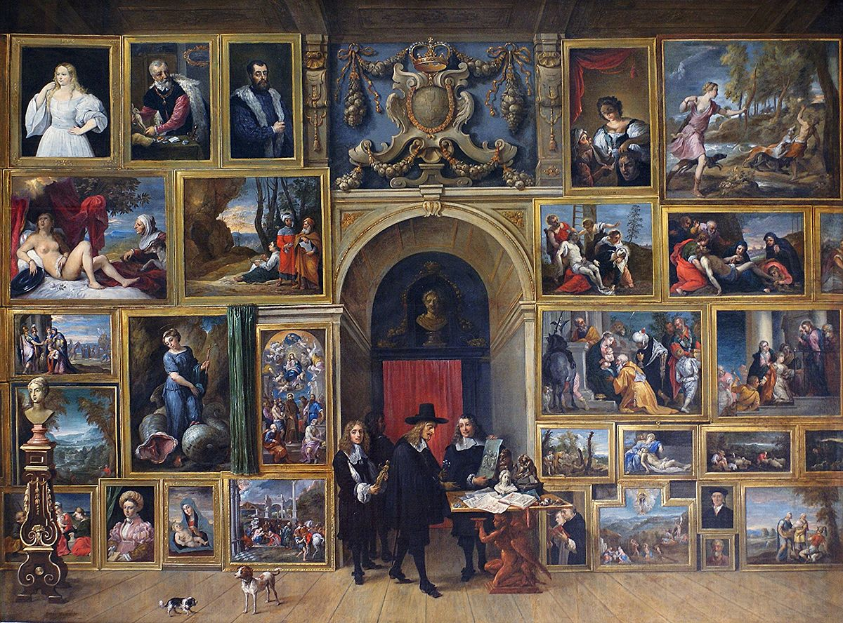gallery of archduke leopold wilhelm  brussels