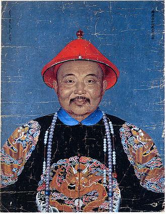 Amursana - Dawachi in Chinese full dress