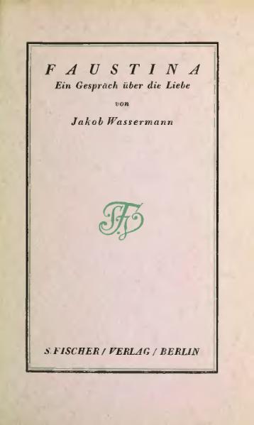 File:De Faustina Wassermann.djvu