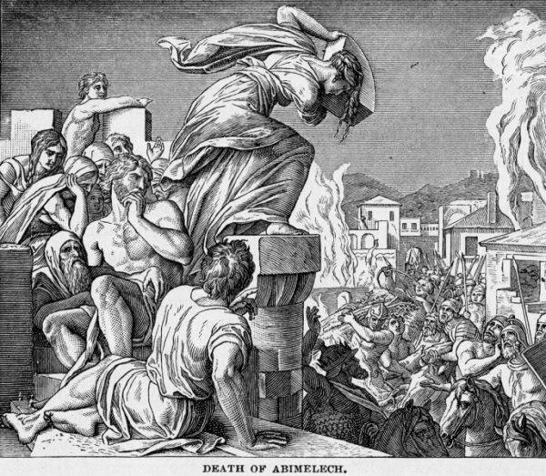 Death of Abimelech