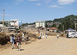 Debarq - Main street of Debark