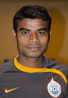 Deepak Mondal Indian footballer