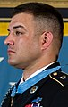 Defense.gov News Photo 110712-A-0193C-010 - President Barack Obama awards Sgt. 1st Class Leroy Petry the Medal of Honor in the White House in Washington, D.C., on July 12, 2011 (cropped).jpg