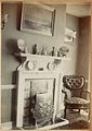 Delightful Edwardian interior shot with picture of lion above fireplace (6631187297).jpg