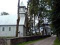 Deltuva church and belfry.JPG