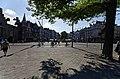 Den Haag - Lange Vijverberg - View on Plaats & Johan de Witt (1625-1672) Statue 1918 by Frederik Engel Jeltsema (1879-1971).jpg