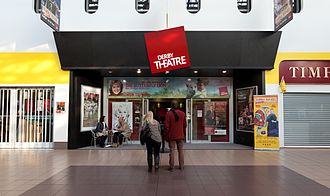 Derby Theatre - Derby Theatre entrance viewed from Theatre Walk