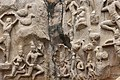 Descent of the Ganges, Pallava period, 7th century, Mahabalipuram (21) (37442440072).jpg