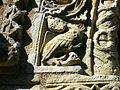 Detail of Romanesque carving, Patrixbourne 1.JPG
