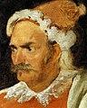 Detail of face in retrato de don Cristóbal Castañeda y Pernía (Barbarroja), by Diego Velázquez.jpg