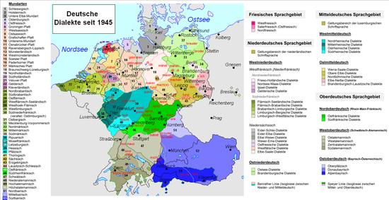 Deutsche Dialekte – Wikipedia