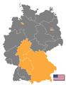 Deutschland Besatzungszonen 1945 amerikanisch.png