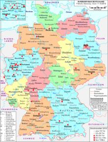 hvor mange bundeslande er der i tyskland