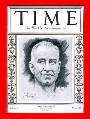 Devereux Milburn - Devereux Milburn on September 5, 1927 edition.