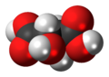 Dextrotartaric acid 3D spacefill.png