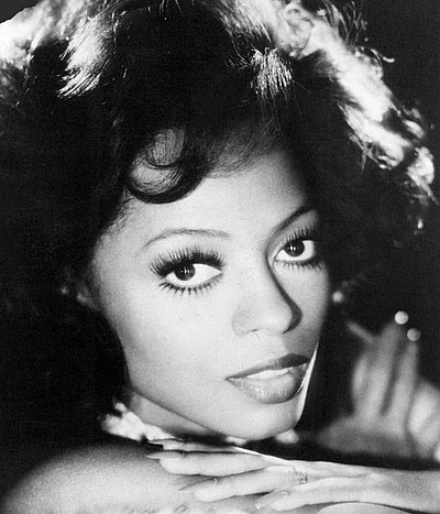 Diana Ross, American vocalist, music artist and actress