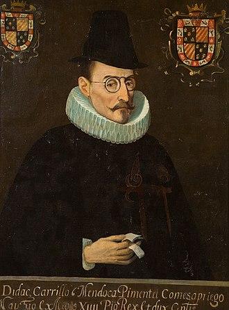 Diego Carrillo de Mendoza, 1st Marquess of Gelves - Image: Diego Carrillode Mendoza