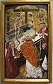 Diego de la cruz (attr.), messa di san gregorio, 1490 ca. 01.JPG