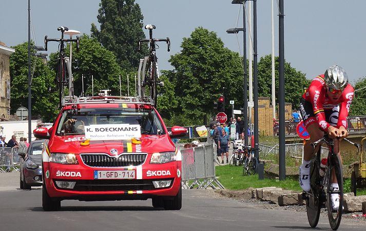 Diksmuide - Ronde van België, etappe 3, individuele tijdrit, 30 mei 2014 (B020).JPG